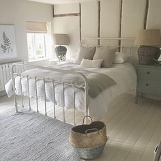 Norfolk Cottages, Home Bedroom, Bedrooms, Bedroom Ideas, Coastal Homes, Bedroom Styles, Country Style, Cosy, Furniture