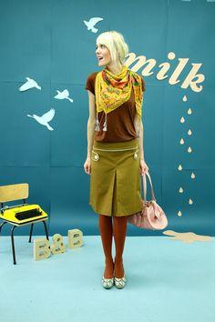 RETRO-60IES ROCK OCKER-LOVE - Bonnie-and-Buttermilk - Midi Skirts