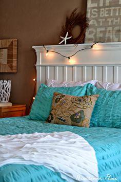 Beachwood Place: Diy crystal Chandelier #Coastal Bedroom