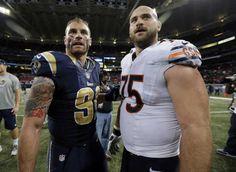 Howie Long's sons: Chris Long(Rams) & Kyle Long(Bears)