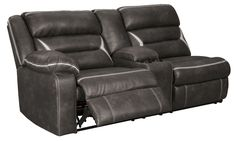 Leather Reclining Sofa, Reclining Sectional, Armless Chair, Power Recliners, Foam Cushions, Signature Design, Contemporary, House Styles, Fashion Forward