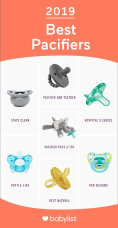 Which pacifier is best for your baby? Here are the best you can get in For newborns: Mam Orthodontic Pacifier; the comforting option: WubbaNub Pacifier. Baby Registry List, Baby Registry Items, Baby List, Baby Necessities, Baby Essentials, Baby Essential List, Best Pacifiers, Baby Binky, My Bebe