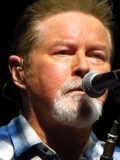Don Henley close up