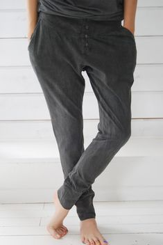 baggy cotton pants