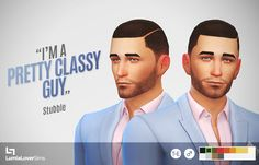 LumiaLoverSims - A new stubble style for your male sims. Comes in...