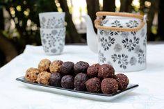 Raw brownie balls 1
