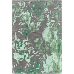 Found it at Wayfair - Brynn Hand-Tufted Green/Charcoal Area Rug