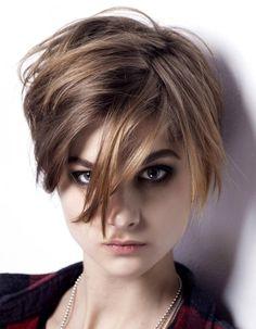 quelles coiffures pour les cheveux chtains elle - Coloration Jean Louis David