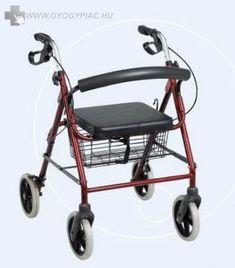 4 KEREKŰ ALUMINIUM ROLLÁTOR biztonsági fékkel GM 4258 Baby Strollers, Baby Prams, Prams, Strollers