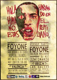 Viernes 28 de febrero, Foyone en la Sala Natura- Valencia