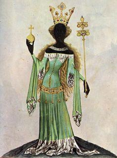 Bellifortis - Queen of Sheba, 122r    Staatsbibliothek Göttigen: Cod. Ms. philos. 63