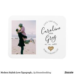 Save The Date Photos, Save The Date Cards, Typography Save The Dates, Modern Wedding Save The Dates, Beautiful Wedding Invitations, Anniversary Quotes, Photo Magnets, Love Messages, Dating