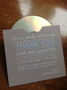 You'll get inspired and decide on which kind of personalized wedding giveaways would fit your wedding reception perfectly Wedding Cd, Wedding Favours, Wedding Themes, Wedding Tips, Wedding Details, Wedding Planning, Dream Wedding, Wedding Table, Decoration Inspiration