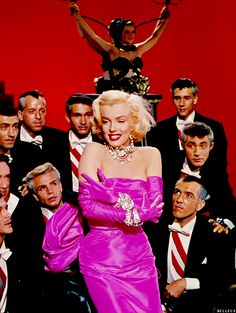 """""""There was no such person as Marilyn Monroe. Marilyn Monroe was an invention of hers. A genius invention that she created, like an author creates a character.""""  — Richard Avedon"""