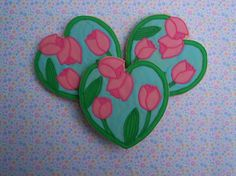 Tulips (Heart Cookie Cutter)