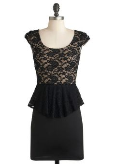 Just bought this one too: Ahead of Timeless Dress, #ModCloth - coupling it up with red lips and curls :)