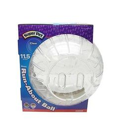 Exercise and Toys 63113: Super Pet Run-About Ball Clear Giant 11.5In Diameter Interactive Fun Pet Toy -> BUY IT NOW ONLY: $42.19 on eBay!