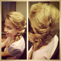 Elsa Hair from Frozen