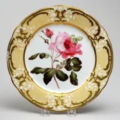 Plate COALPORT AND COALBROOKDALE PORCELAIN FACTORY (ENGLISH, b. 1780–PRESENT) C. 1820