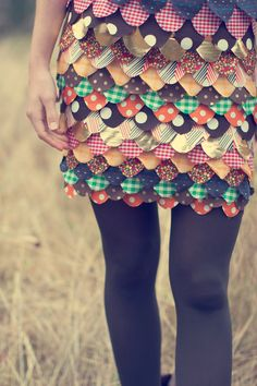 looks like a cool & easy sewing project
