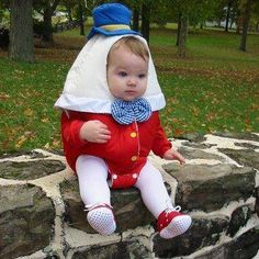 My child would probably not be too happy with me in years to come if I did this...but it looks like a cute costume though!