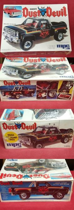 Vintage 2585: Vintage Mpc Chevy Dust Devil 4X4 Truck Factory Sealed 1 25 Model Kit. -> BUY IT NOW ONLY: $115 on eBay!