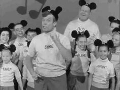 """""""The Talents Given to You and Me...""""  Mouseketeers sing and dance about values"""