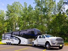 Matching fifth wheel to your truck is a Chef's Kiss finish on a Luxe! Drive off in your own Luxe Truck & Fifth Wheel Fifth Wheel Living, Luxury Fifth Wheel, Luxury Rv, 5th Wheels, Rv Living, Truck, Kiss, Trucks, Kisses