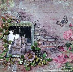C'est Magnifique Scrapbook Kits and Store: Evelyn´s March Kit Projects