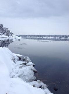 Vinter i skärgården #arcipelago #stockholm