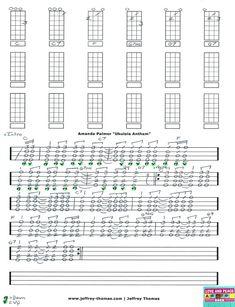 "Free Tab Update for ""Ukulele Anthem"" by Amanda Palmer.  Free skype review available:  www.jeffrey-thomas.com"