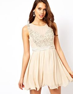 Enlarge Little Mistress Applique Mesh Prom Dress