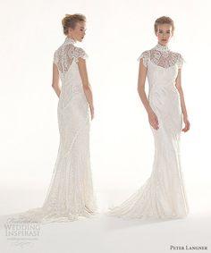 Peter Langner Vestidos de novia 2013  