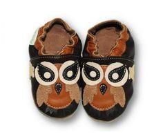 ekoTuptusie Pan Puchacz :) Soft Sole Shoes Brown Owl :) https://fiorino.eu/