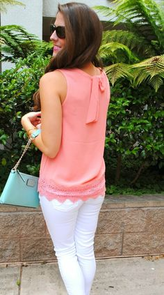 Cute blog for preppy outfits- love the scallops!