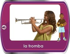 Italian for Children / Italiano per Bambini - Music Instruments