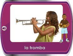 Italian for Children / Italiano per Bambini - Music Instruments