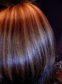 auburn hair with highlights - Google Search