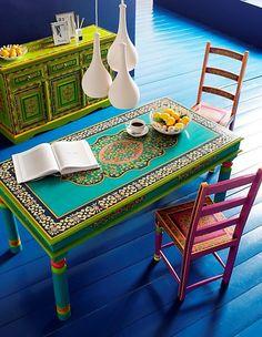 Bohemian / Hippie / Gypsy / Kitchen / Decor / Colour