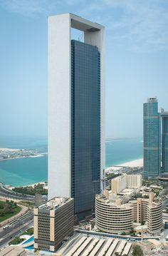 ADNOC Headquarters, Abu Dhabi-United Arab Emirates, 342 m | Com 2014 | HOK