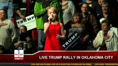 Girl Delivers AMAZING Performance of National Anthem at Donald Trump Rally - America's Bright Future!