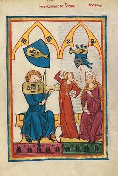 Codex Manesse - page 312r