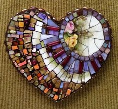 mosaic – Tile ideas - Housing Projects for World Mirror Mosaic, Mosaic Art, Mosaic Glass, Mosaic Tiles, Tiling, Mosaic Crafts, Mosaic Projects, Art Projects, Mosaic Designs