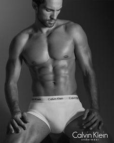 Tobias Sorensen Wears Calvin Klein Underwear