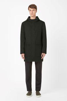 COS | Hooded wool coat