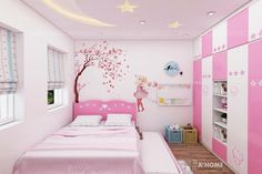 New Kids Room Paint Girls Bedrooms Ideas Bed For Girls Room, Girl Room, Girls Bedroom, Bedrooms, Pink Bedroom Decor, Small Room Bedroom, Baby Room Decor, Girls Room Design, Girl Bedroom Designs