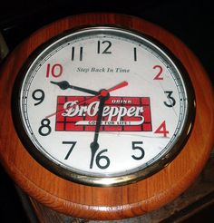Other than Big Ben, I know of no better way to keep time and look good doing so. Dr Pepper, Clock, Stuffed Peppers, Sugar, Dublin, Fun Things, Big Ben, Signage, Bottles