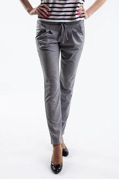 img Handmade Design, Spring Summer, Spandex, Elegant, Grey, Pants, Sport, Collection, Fashion
