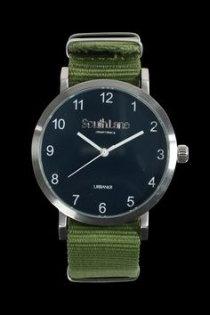 We've been thinking about the Swedish watchmaker's designs since we first saw the collection at Pitti Uomo back in July. With minimalistic nato straps as sleek as this, you can see why. £98.75 (€115). south-lane.com