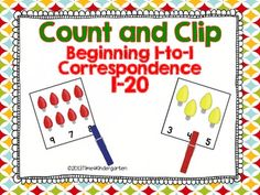 Count and Clip Christmas Lights